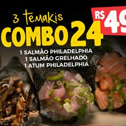 Combinado 24 - 3 Temakis