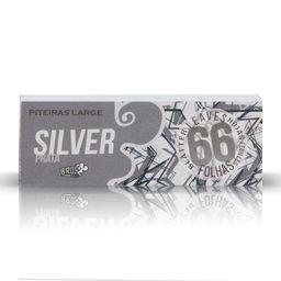 Piteira Large Bros Silver - 66 Folhas