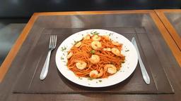 Espaguete ao Pomodoro com Camarão - 450g