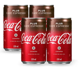 Coca-Cola Café Plus Espresso - 220ml