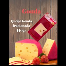Queijo Gouda Cruzília Fracionado - 140g