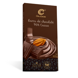 Cia Barra Chocolate 70% - 100g