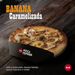 Pizza de Banana Caramelizada - Broto