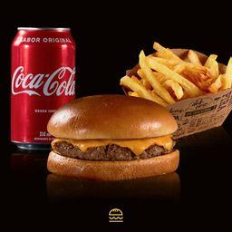 Combo Cheese Burger