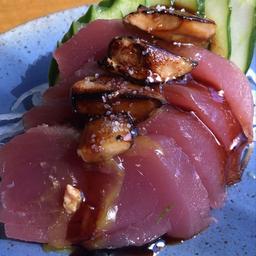 ashimi maguro foie gras