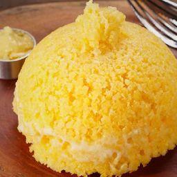 Cuscuz com Manteiga