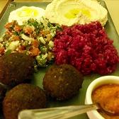 Marocco com Falafel