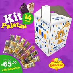 Kit Paleta Mexicana Glacial - 14 Unidades