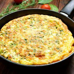 Omelete + Linguiça Toscana