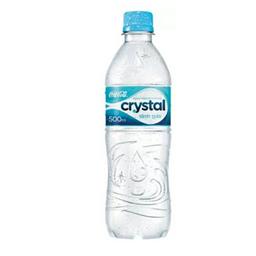 Água mineral Crystal sem gás
