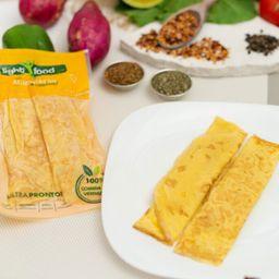 Omelete de Peito de Perú com Requeijão