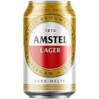 Cerveja amstel lata 350ml