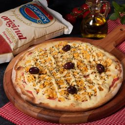Pizza de Frango com Catupiri