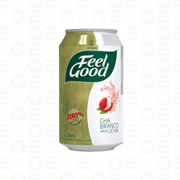 Feel Good Chá Branco Sabor Lichia 330ml