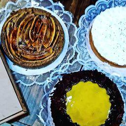 Torta Banana Integral - Fatia