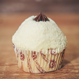 Cupcake Leite Ninho com Brigadeiro