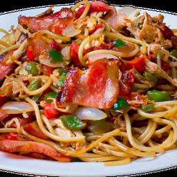 Espaguete Na Chapa Grande