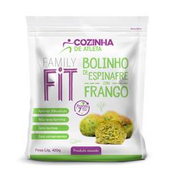 Bolinho de Espinafre com Frango - 420g