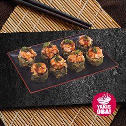 Porção Hot Roll Tataki 8un