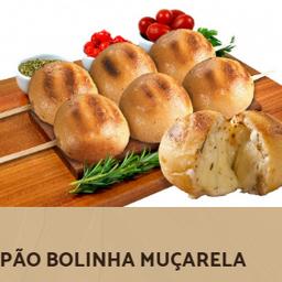 Pão Bolinha de Mussarela