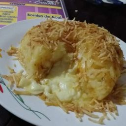 Batata recheada 3 queijos