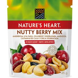 Snack Natures Heart Nutty Berry Mix - 65g