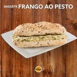 Baguete Frango ao Pesto