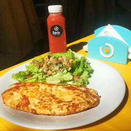 Omelete de Pepperoni Combo