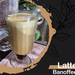 Latte quente - banoffee - 360ml