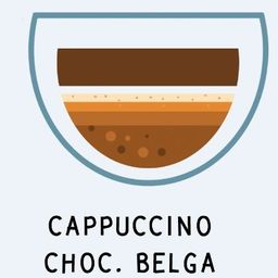 Cappuccino Chocolate Belga 200ml
