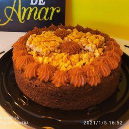 Torta Brownie Crocante