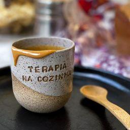 Copinho Cerâmica Cinza