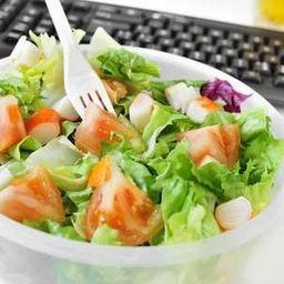 Salada alface e tomate  (pequena)
