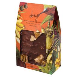 Chocolate quebra-quebra banana e castanha de caju - 200g