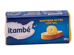 Manteiga Itambé Barra 200g