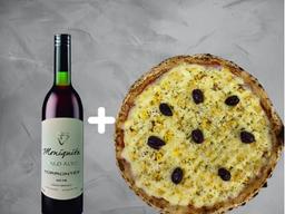 Combo Pizza e Vinho Branco