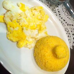 Cuscuz com Ovo Frito - 240g