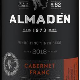 Vinho Almadén Cabernet Franc 750ml