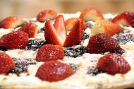 Pizza de Frutas Vermelhas