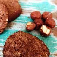 Cookies de Avelã e Cacau Integral