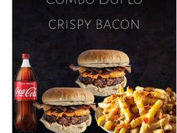 #4 Combo Duplo Casal Crispy Bacon