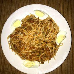 Espaguete com Bolonhesa