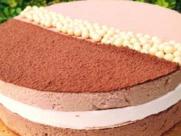 Mousse 3 Chocolates - Pequeno