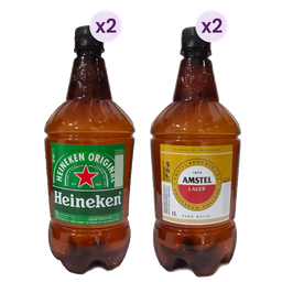 Rappicombo Chopp Amstel + Chopp Heineken