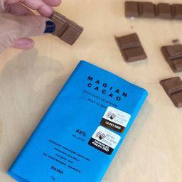 Chocolate Bean To Bar 45 % ao Leite
