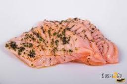 Sashimi de Salmão Toast - 10 Peças