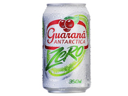 Guarana Antarctica Zero 350ml - Lata
