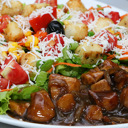 Salada Chicken Teriyaki