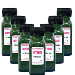 Kit com 7 Shots de Spirulina