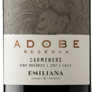 Vinho Adobe Orgânico Carmenere - 750ml